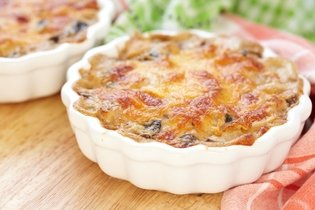 Gratinado de frango - light