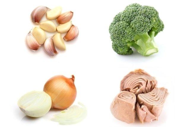 Comer alimentos anti-inflamatórios