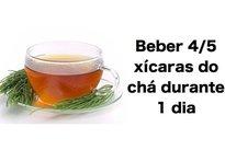 Chá de cavalinha para infecção urinária