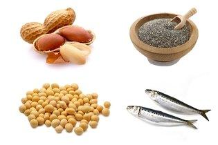 Alimentos ricos em gorduras insaturadas