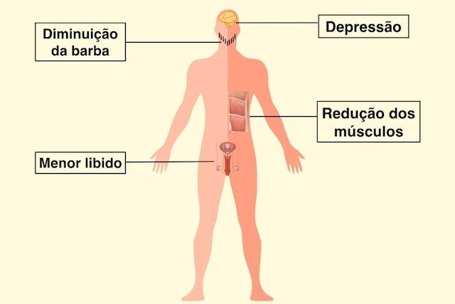 Testosterona baixa no homem