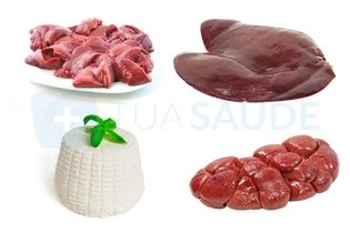 Carnes ricas em colesterol