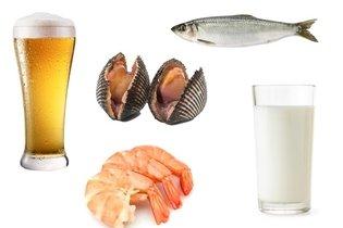 Outros alimentos ricos em iodo