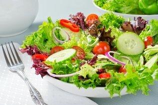 Salada mal lavada