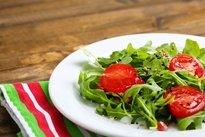 Salada com rúcula
