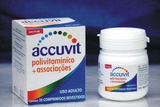 Accuvit - Suplemento Vitamínico