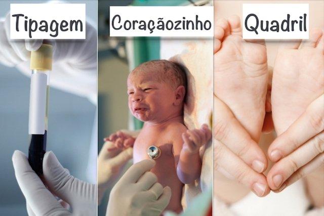 7 Testes que o recém-nascido deve fazer