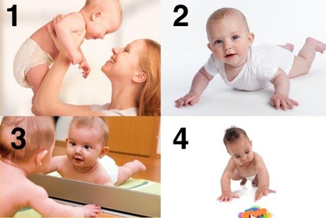 Como ajudar o bebê a Engatinhar mais rápido