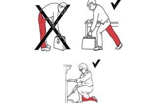Como agachar e ajoelhar