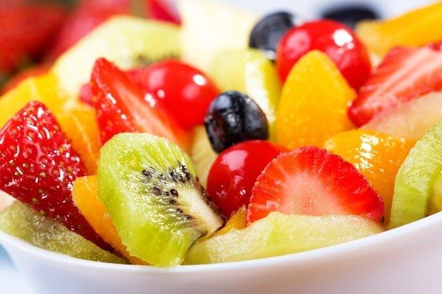 Salada de fruta light para emagrecer