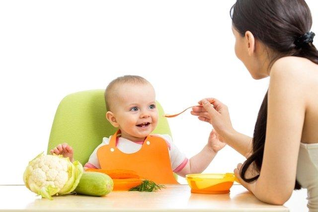 Alimentación del bebé a los 6 meses