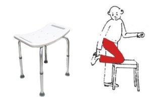 Como lavar a perna operada