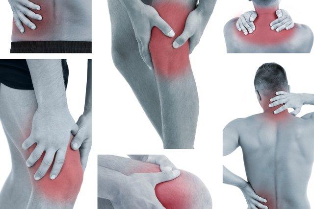 Locais do corpo onde o indivíduo com fibromialgia pode ter dor