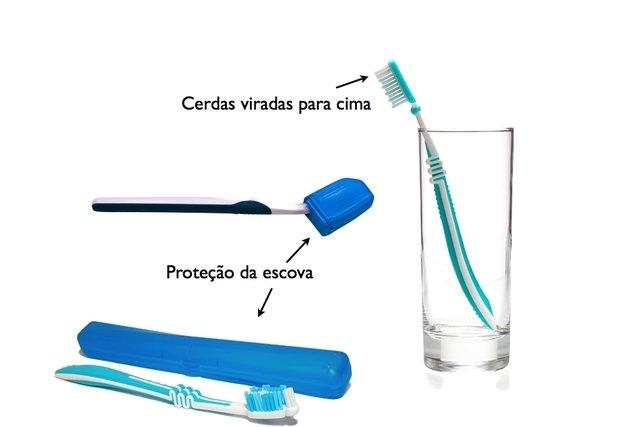 Higiene da escova