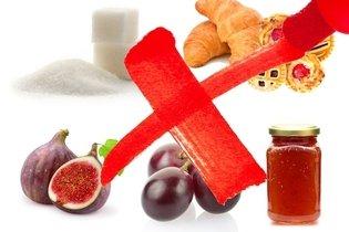 Alimentos proibidos na dieta para diabetes tipo 2