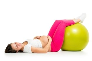 Elevar as pernas quando deitada pode ajudar