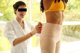 Talassoterapia por bandagem