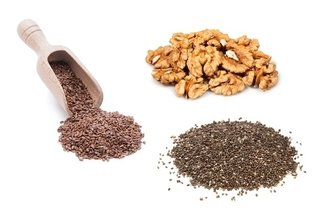 Alimentos de origem vegetal ricos em ômega 3