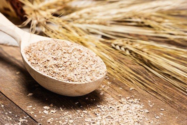 Farelo de trigo combate a prisão de ventre