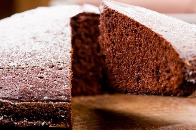 Receita de bolo de chocolate para o colesterol