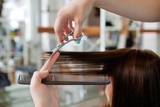 Cortar o cabelo em camadas