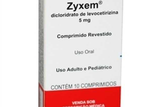 Levocetirizina (Zyxem)