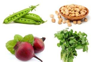 Alimento ricos em ferro de origem vegetal