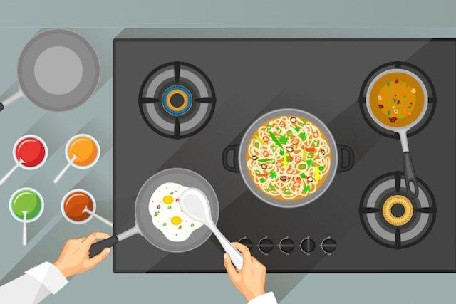 Misturar alimentos que não gosta com alimentos que gosta