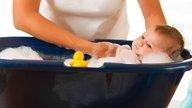 Passo a passo para o banho no Bebê