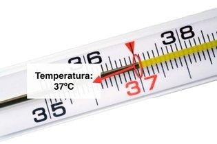 Como ver a temperatura no termómetro analógico