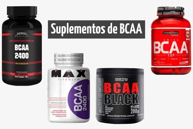 Exemplos de Suplemento de BCAA