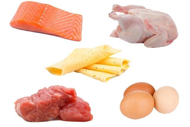 Alimentos ricos em proteína animal