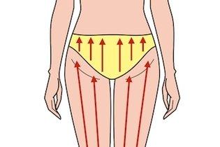 Fazer drenagem linfática nas pernas
