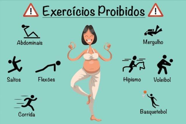 Saiba quais são os piores exercícios para praticar na Gravidez