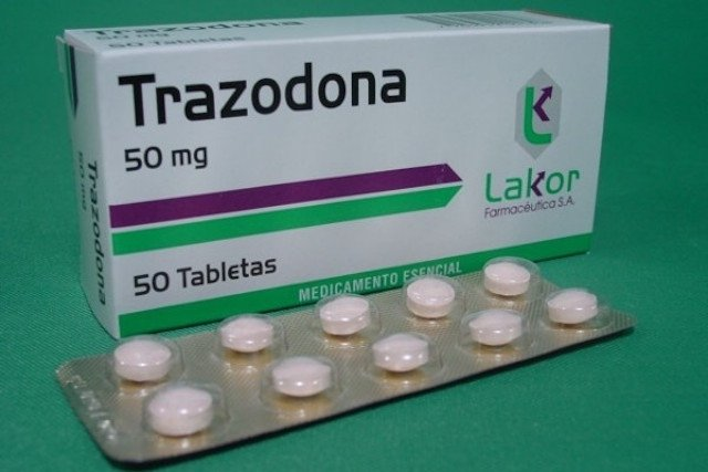 Trazodona para tratar a depressão