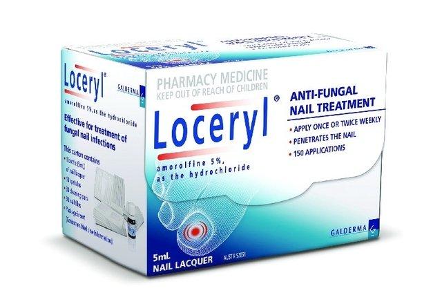 Amorolfina (Loceryl)