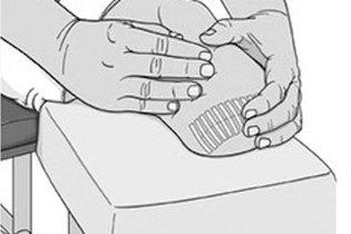 Fazer massagem no coto