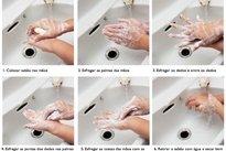 Técnica correta da lavagem das mãos