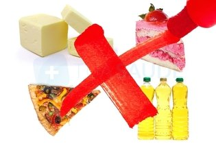 Alimentos proibidos na esteatose hepática