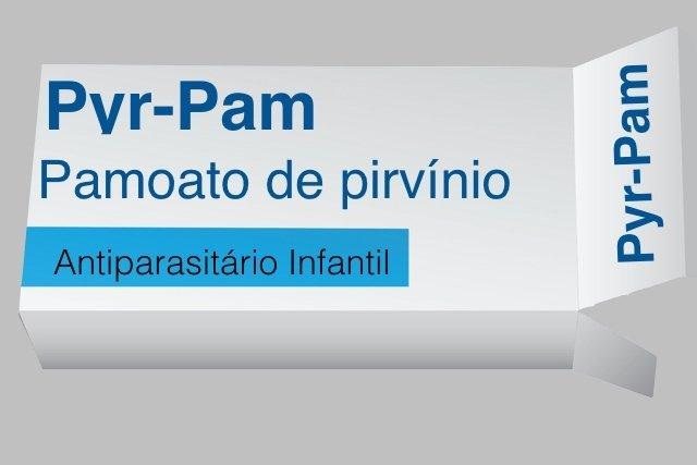 Pyr-Pam Remédio para Tratar Oxiúrus