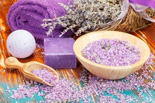 Banho aromático para Relaxar