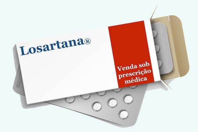 Losartana: remédio para pressão alta