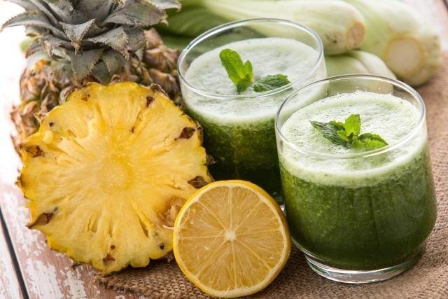 Suco de abacaxi para aumentar a energia e ter mais disposição