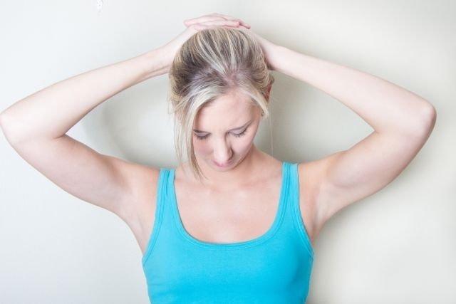 Alongamentos para dor no pescoço