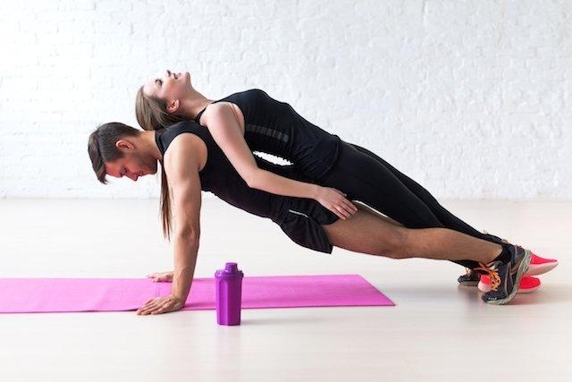 Exercícios para fazer em dupla