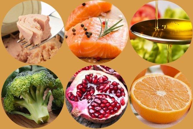 Alimentos que ajudam a combater a inflamação