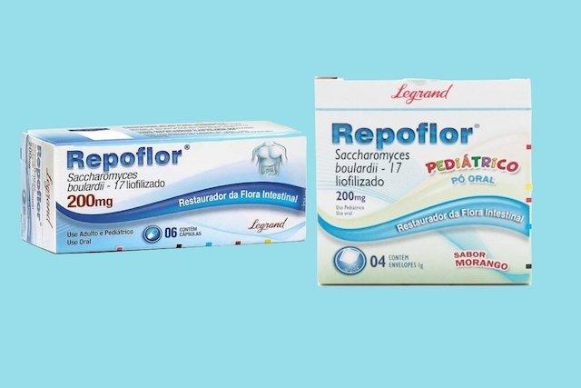 Como tomar Repoflor