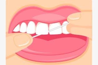 dbc9bb01f Como passar o fio dental corretamente - Tua Saúdee