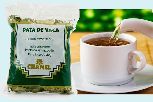 Chá de Pata-de-Vaca para Diabetes