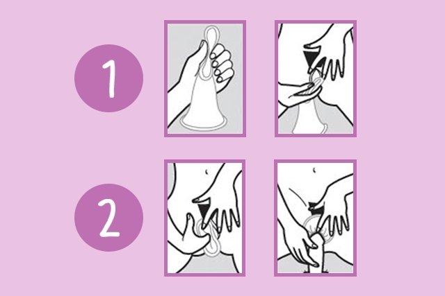 Como usar a camisinha feminina